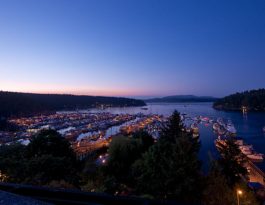 Friday Harbor sunset